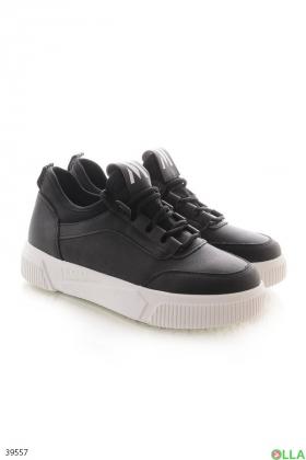Женские черные кроссовки - 00-00122798