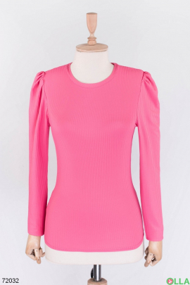 Женская розовая кофта