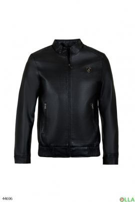 Мужская куртка-кожанка