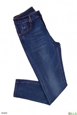 Женские светло-синие джинсы