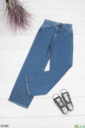 Женские синие джинсы Boyfriend
