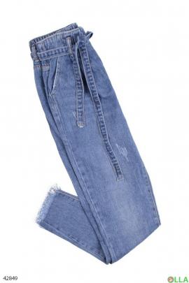 Женские джинсы на резинке