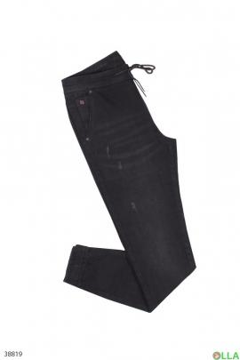 Мужские брюки на завязках
