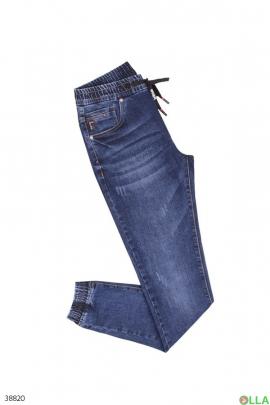 Мужские джинсы с манжетами