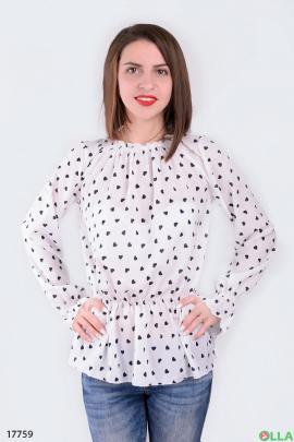 Женская блузка на резинке