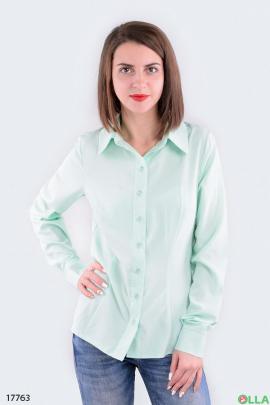 Женская приталенная рубашка