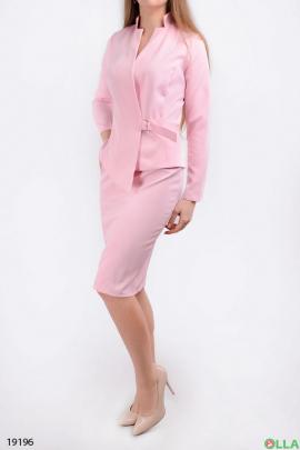 Женский классический костюм с юбкой