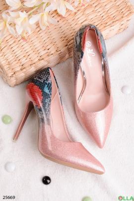 Туфли с блёстками