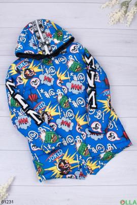 Женская зимняя разноцветная куртка
