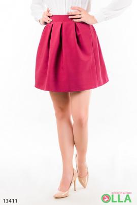 Короткая юбка-полусолнце
