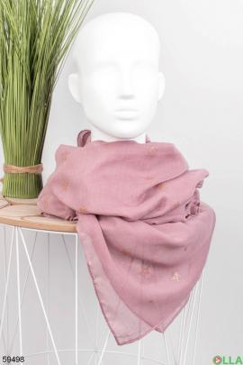 Женский шарф с принтом