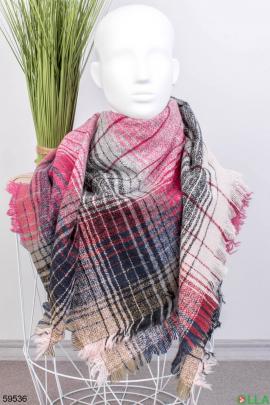 Женский шарф в полоску