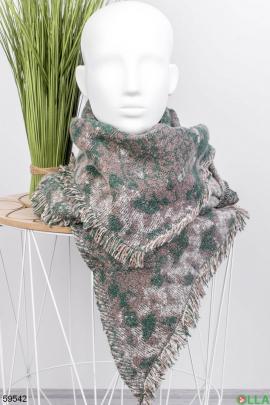 Женский шарф в принт
