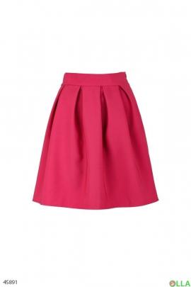 Женская юбка в складку