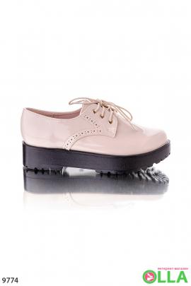 Женские туфли-криперы