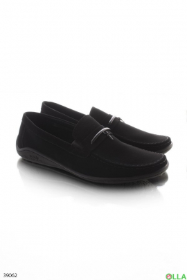 Мужские туфли чёрного цвета