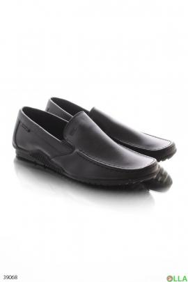 Мужские чёрные туфли