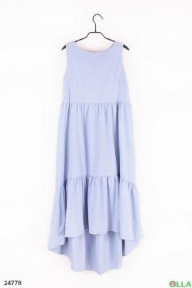 Летнее платье свободного кроя