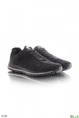 Спортивные кроссовки с верхом из текстиля
