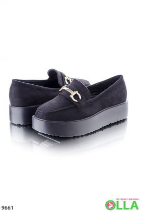 Туфли-криперы на платформе