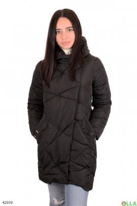 Женская коричневая куртка