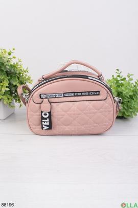 Женская розовая сумка