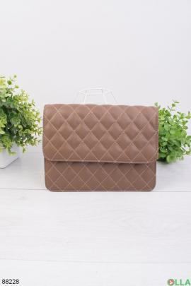 Женская коричневая сумка
