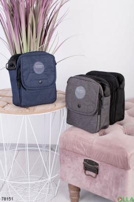 Мужская темно-синяя сумка