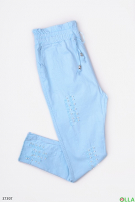 Женские однотонные штаны