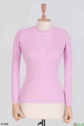 Женский Розовый свитер