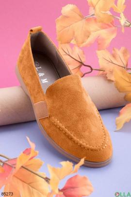 Женские оранжевые туфли
