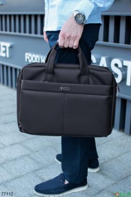 Черная сумка для ноутбука