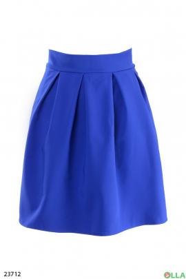 Женская юбка синего цвета