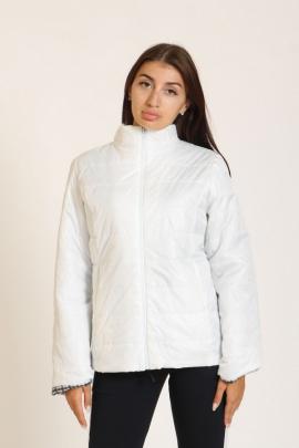 Женская куртка белого цвета
