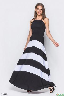 Облегающее платье с завязками