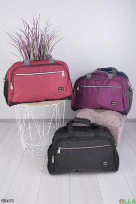 Мужская красная спортивная сумка