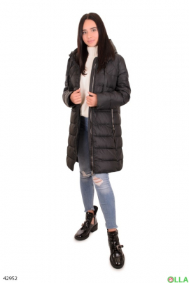 Куртка чёрного цвета