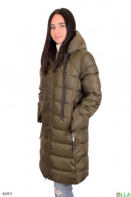 Куртка коричневого цвета
