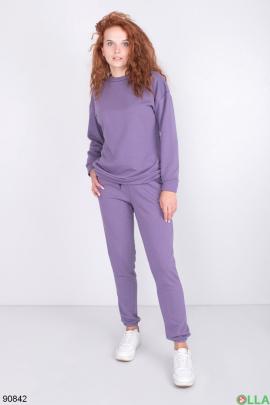 Женский Фиолетовый спортивный костюм