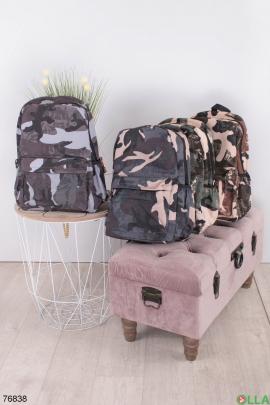 Женский камуфляжный рюкзак