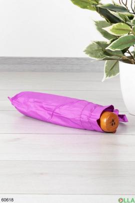 Женский светло-фиолетовый зонт