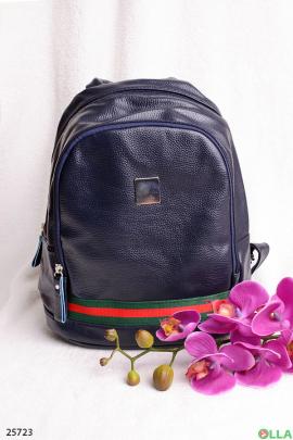 Синий рюкзак с кантом