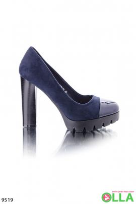 Туфли с лаковым носком