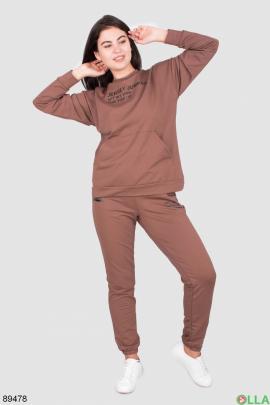 Женский спортивный костюм с надписями