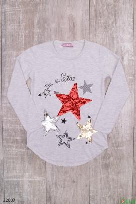 Белая туника  со звездами