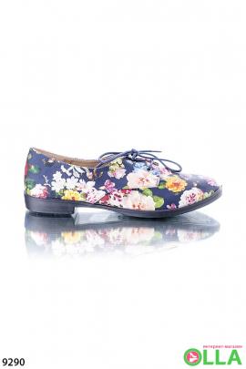 Туфли в цветочек