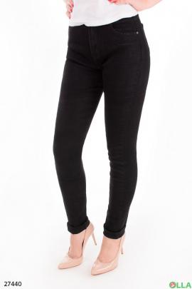 Женские джинсы черного цвета