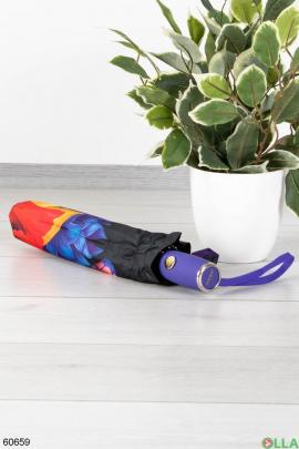 Женский зонт с 3D принтом
