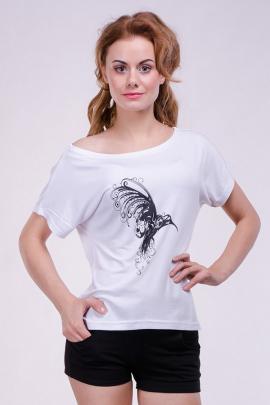 Женская футболка-разлетайка