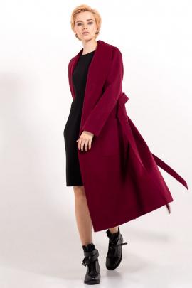Пальто на запах, с поясом
